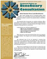 Beneficiary Consultation Brochure