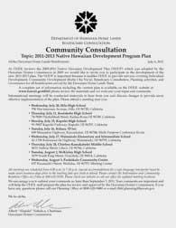 NHDPP 2011-2013