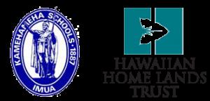 Kamehameha Schools - Hawaiian Home Lands logos