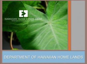 Leeward Housing Summit DHHL-OHA powerpoint PDF