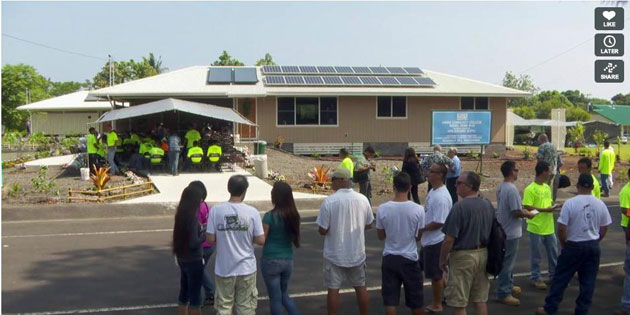 Hawai'i Community College Dedicates 46th DHHL Home