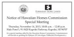 HHC special Meeting