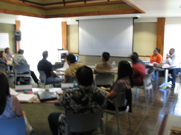DHHL staff attend NeighborWorks training course in Hale Pono'i.