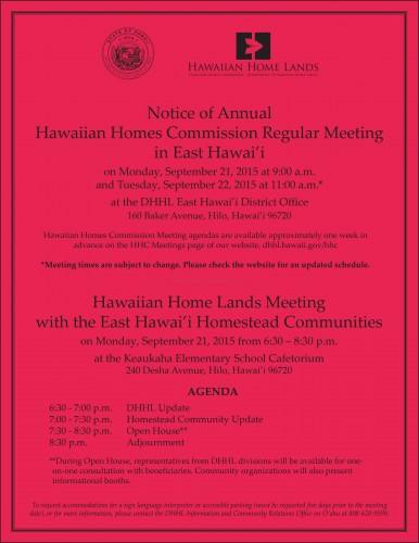 HHC Keaukaha Flyer