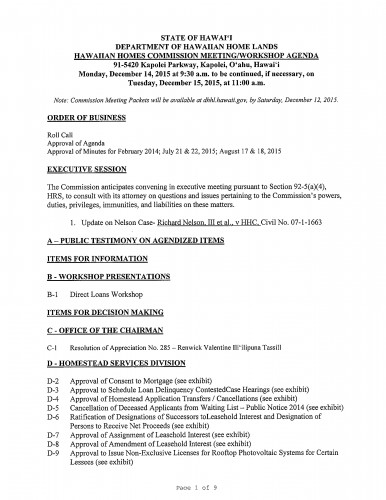 HHC Agenda Pic