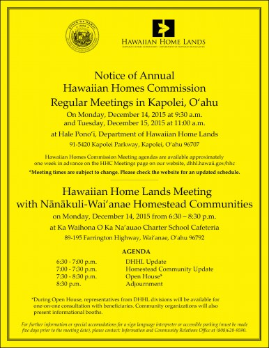 Colored Nanakuli-Waianae HHC Flyer