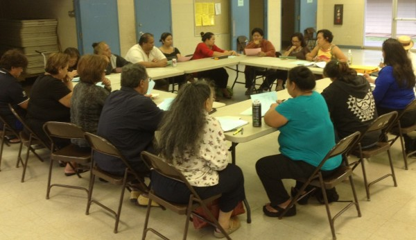 Nelson Meeting with Maui Beneficiary Leaders