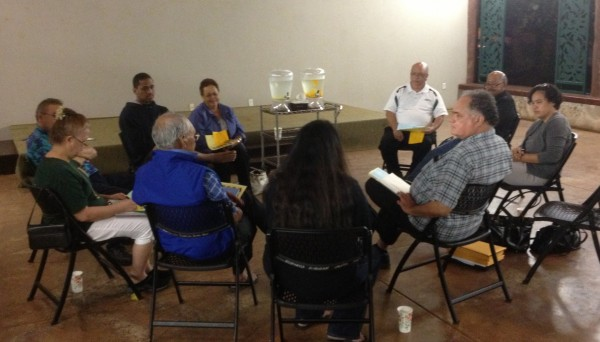 First Nelson case meeting in Waimanalo.