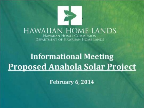 Anahola Solar Powerpoint
