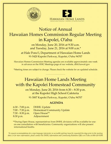 HHC Kapolei Flyer