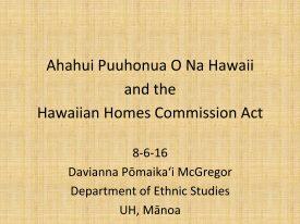 Ahahui Puuhonua O Na Hawaii
