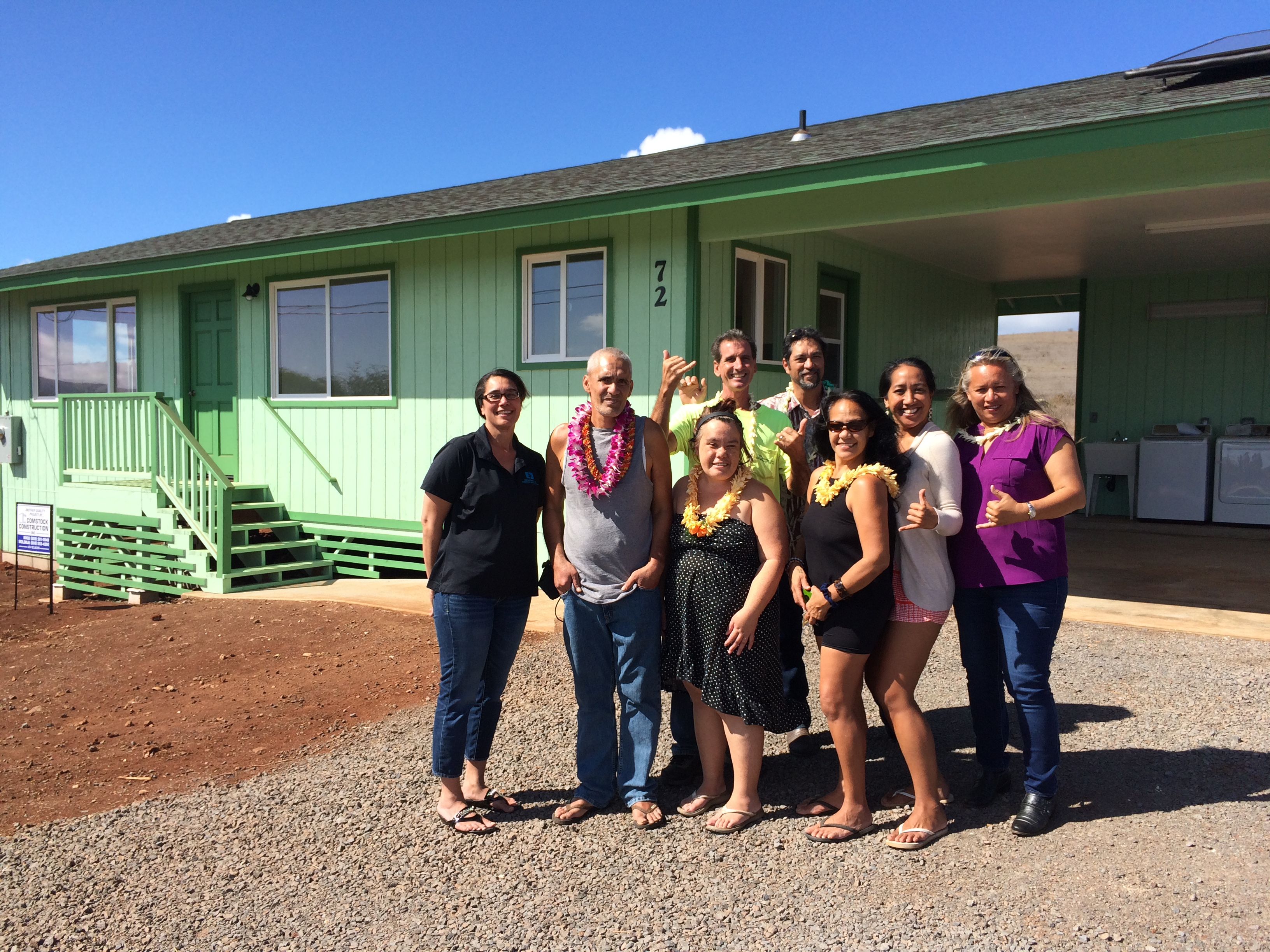 Department of hawaiian home lands first homesteaders in for Hawaii package homes