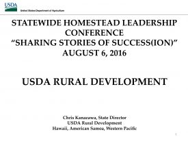 Department of hawaiian home lands dhhl leadership conference 2016 resources - Usda rural housing development ideas ...