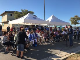 8beabbb8f59 On Saturday March 2nd the Department of Hawaiian Home Lands and Gentry  Homes invited 60 families to view their new lots in the Ka`uluokaha`i  master-planned ...